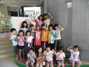 工作教室・風鈴作り(3)
