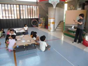 工作教室・風鈴作り(1)