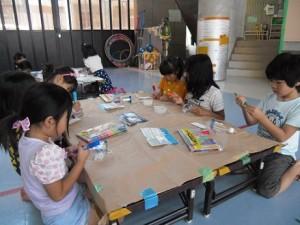 工作教室・風鈴作り(2)