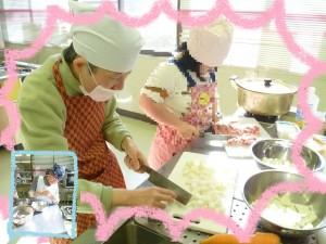 調理実習(豚汁)